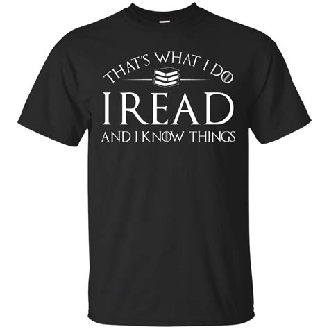T Shirt Read that s what i do i read and i things t shirt hoodies