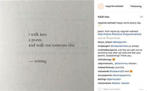 best poems the best poems from instagram s favorite nayyirah waheed