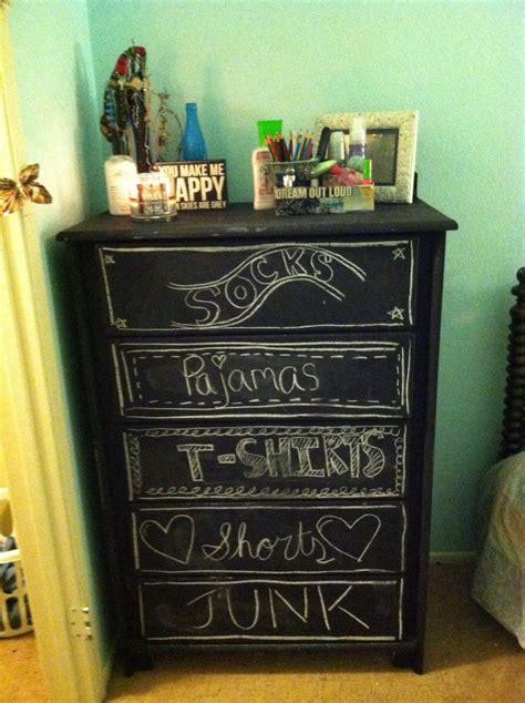 Chalkboard Dresser by Diy Chalkboard Dresser House
