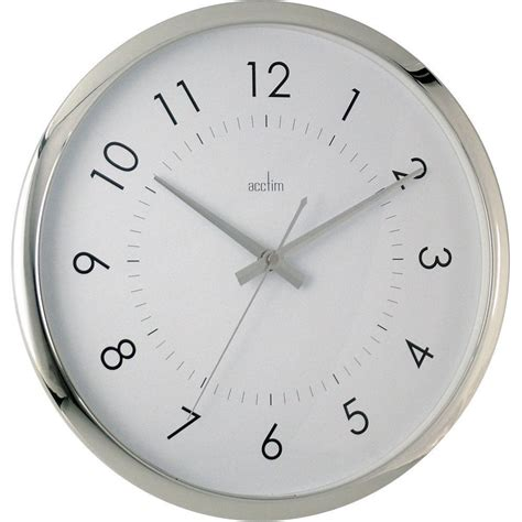 silent wall clocks yoko silent sweeping wall clock 32cm