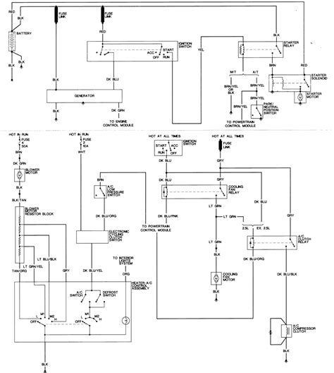 89 Dodge Ram Wiring Diagram Wiring Library