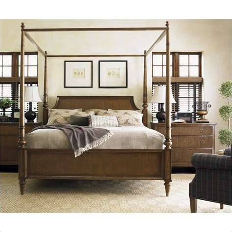 cymax beds lexington quail hollow georgetown poster bed in wellington