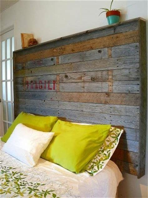 recycled headboard 40 recycled diy pallet headboard ideas 99 pallets