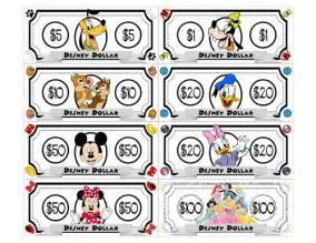Freebie printable disney dollars play money going to give each kid a