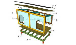 plans for building a house doghouse howtospecialist how to build step by step
