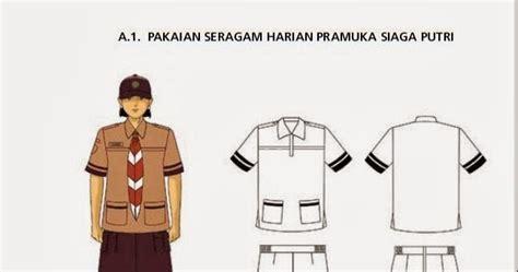 Baju Pramuka Siaga Lengan Pendek Seragam Sekolah No 6789 pakaian seragam harian pramuka siaga putri