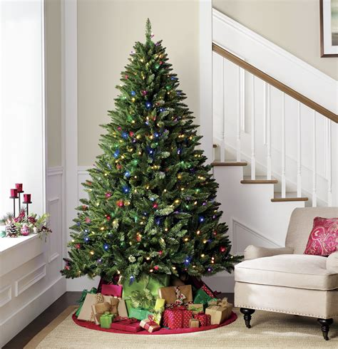 7 pre lit diamond peak tree kmart