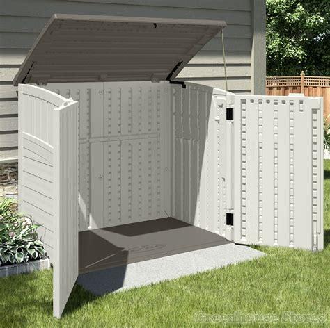 Storage For Sheds by Suncast 4x3 Kensington Six Plastic Garden Store