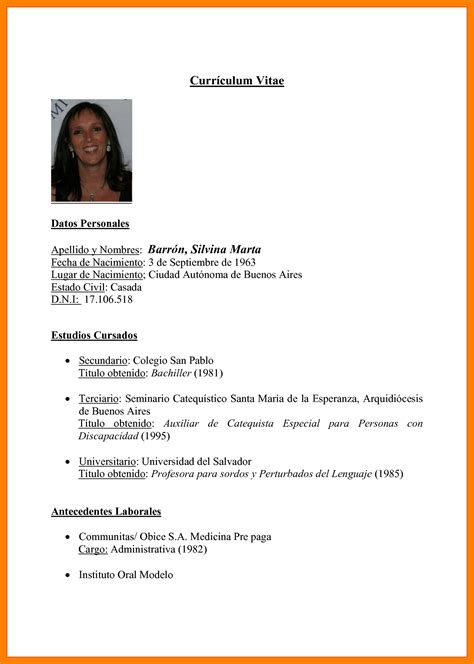 Modelo De Curriculum Para Zara pretty modelos de resume ideas documentation template