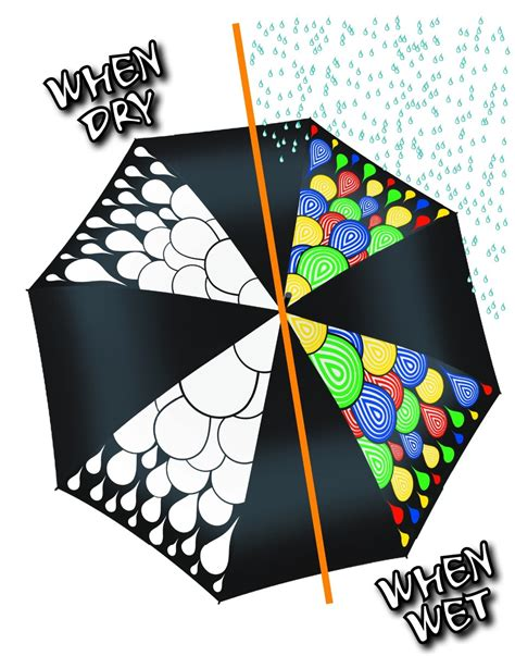 color changing umbrella hydrochromatic colour change umbrella chameleon brands
