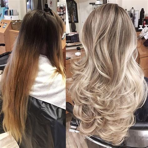where to place foils for ombre 447 best images about ombre hair on pinterest her hair