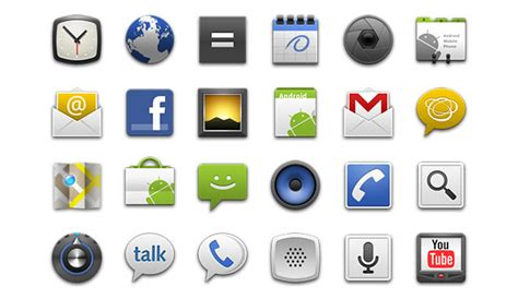 android app icons android app developers gui kits icons fonts and tools