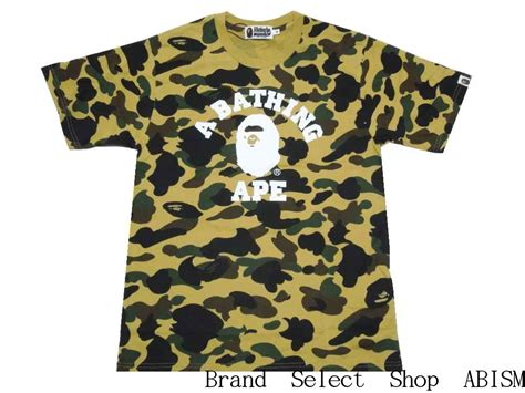 Bape Kaos Tshirt A Bathing Ape 23 brand select shop abism rakuten global market a bathing ape ape 1st camo college