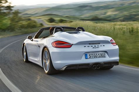 2018 Porsche Boxster Spyder Review Auto Car Update