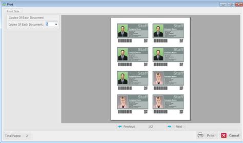 photo layout software for printing id card workshop professional membership management and