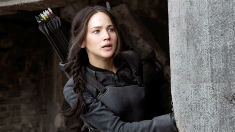 katniss hunger games jennifer lawrence wallpapers hd