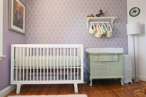 a moroccan stenciled nursery project nursery