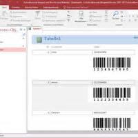 Etiketten Drucken Excel Vba by Barcodes In Access Datenbanken Barcode Software