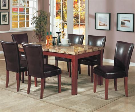 Marble Dining Room Table And Chairs by Marble Dining Room Table And Chairs Alliancemv Com