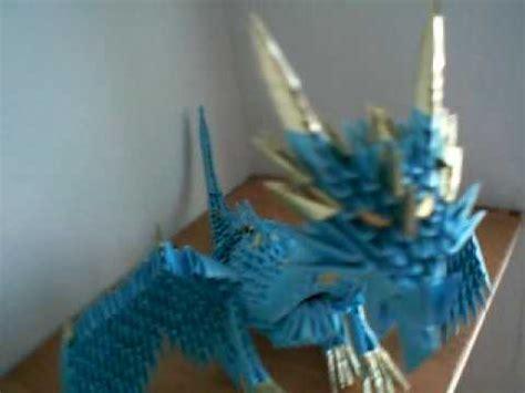 3d origami dragon tutorial youtube 3d origami dragons bird wagen etc youtube