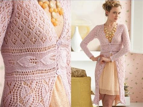 Dress Anak Layer Motif Leaves 1 lace coat vogue knitting early fall 2012