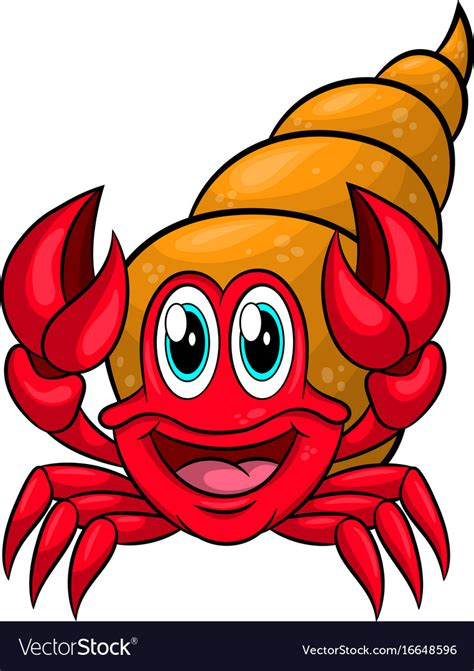 free vector clipart images hermit crab royalty free vector image