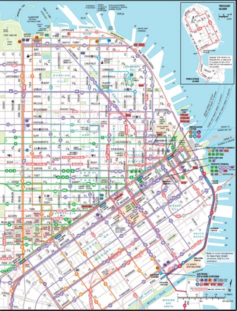 san francisco muni map pdf san francisco muni map michigan map