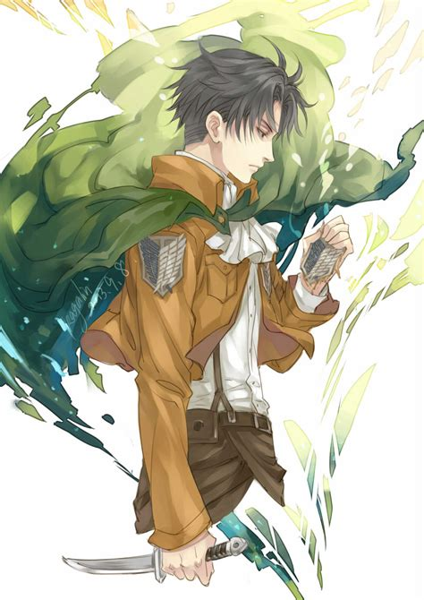 reason  levi joined survey corps daily anime art