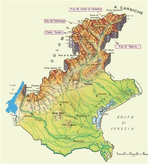 geografia veneto mapa veneto gu 237 a italia