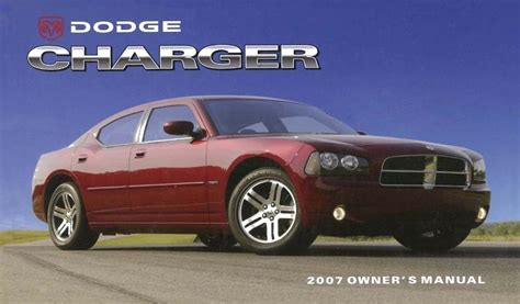 where to buy car manuals 2007 dodge charger user handbook 2007 dodge charger owner manual user guide reference operator book fuses fluids ebay