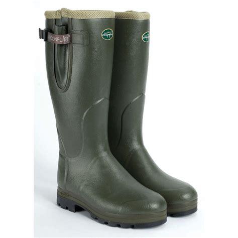 mens le chameau boots vierzon air wellington boots vierzon air comfort or