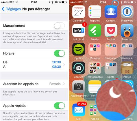 cadenas iphone batterie mode nuit iphone twitter