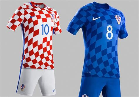 Jersey Go Croatia Home 2016 kits all 24 teams shirts released