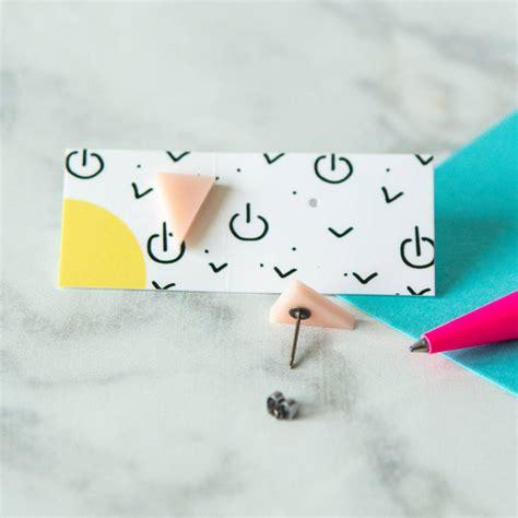 Geometric Acrylic Earring geometric acrylic laser cut earrings by berylune