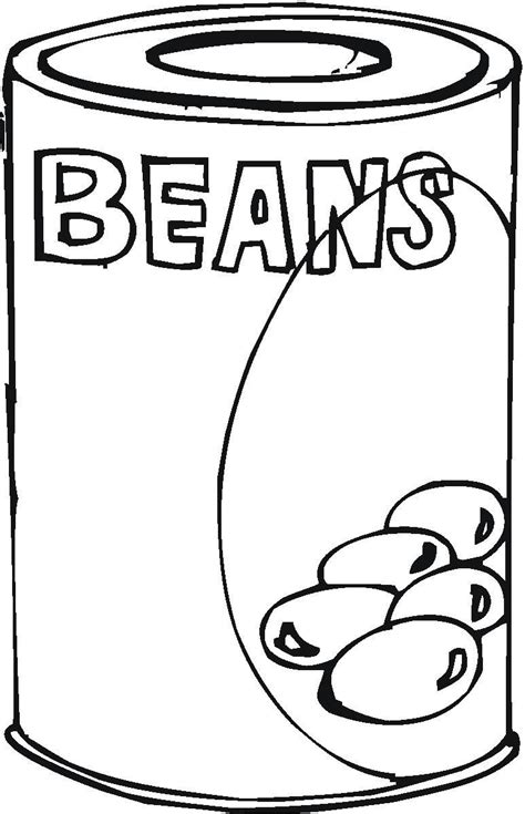 Coloring Pages Canned Food | canned food coloring pages hicoloringpages coloring home