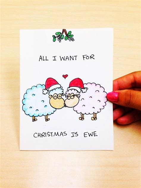 Funny Christmas Card cute christmas card by