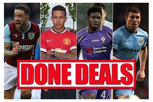 done deals transfer news