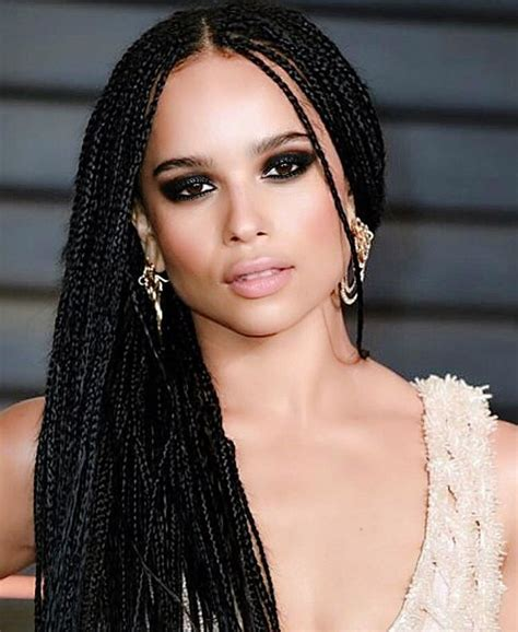 Box Hairstyle by Hairstyles With Small Box Braids Hairstyles