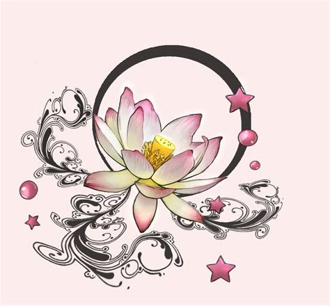 stars and flower tattoo designs 39 awesome lotus designs
