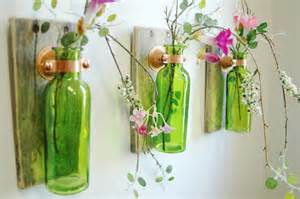 Glass bottle trio farmhouse style wall decor farmhouse kitchen decor