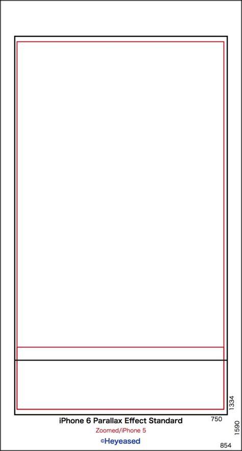 iphone  natural size wallpaper template tranceparent