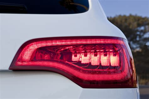 audi q7 led lights 2010 audi q7 s line rear led light eurocar