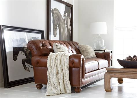 chadwick leather sofa chadwick leather sofa sofas loveseats
