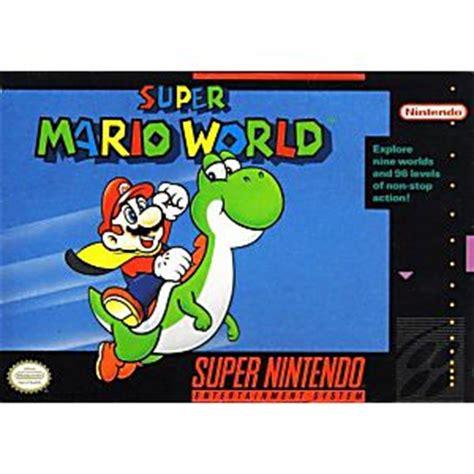 buy super mario world snes super nintendo original and