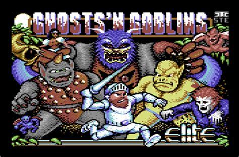 [csdb] ghosts'n goblins arcade by nostalgia (2015)