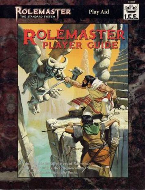 Rolemaster Companion 3 rolemaster rolemaster player guide 5503