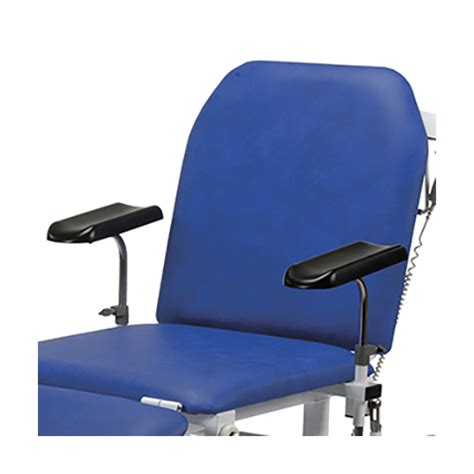 examination couches pair of height adjustable armrests for bristol maid