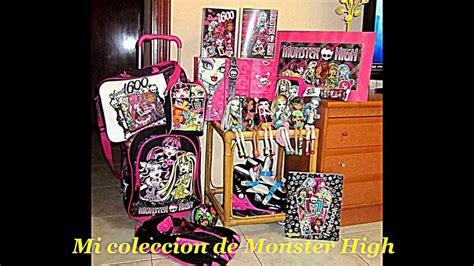 imagenes de utiles escolares de monster high mi coleccion monster high youtube