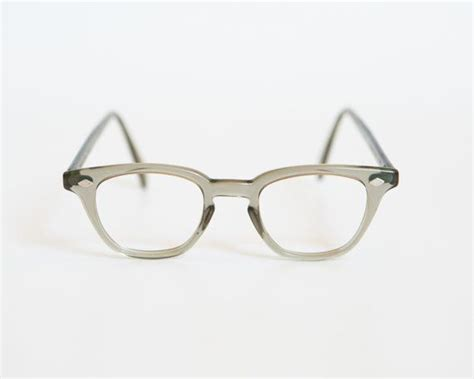 1950s bausch and lomb grey horn eyeglass or sunglass