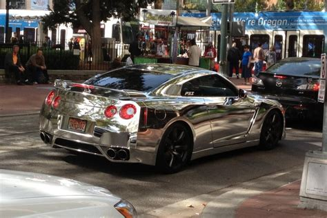 Chrome Nissan Gtr No Comment